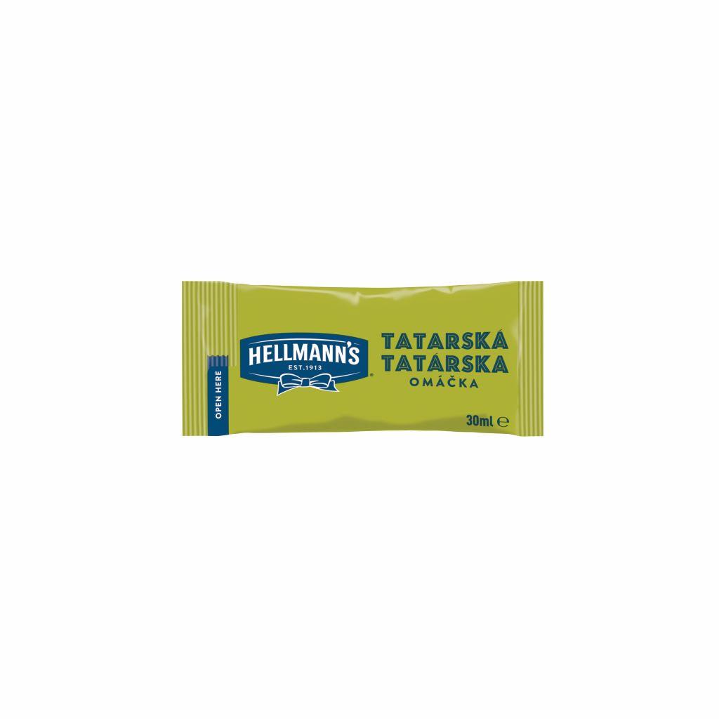 Hellmann´s Tatárska omáčka porc. 30ml - Hellmann's: tradičná chuť a kvalita