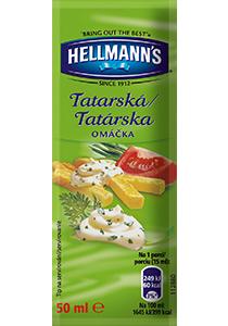 Hellmann´s Tatárska omáčka porc.50ml - Hellmann's: tradičná chuť a kvalita