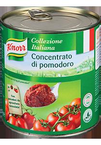 Knorr Paradajkový pretlak 4,5kg -  Knorr paradajkové variácie ponúkajú šťavnaté paradajky z Talianska.