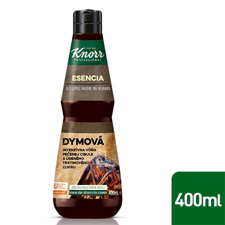 Knorr Professional Esencia s intenzívnou chuťou údeného 0,4 l - Vyrobená z  ingrediencií ako údený trstinový cukor a cibuľové pyré.