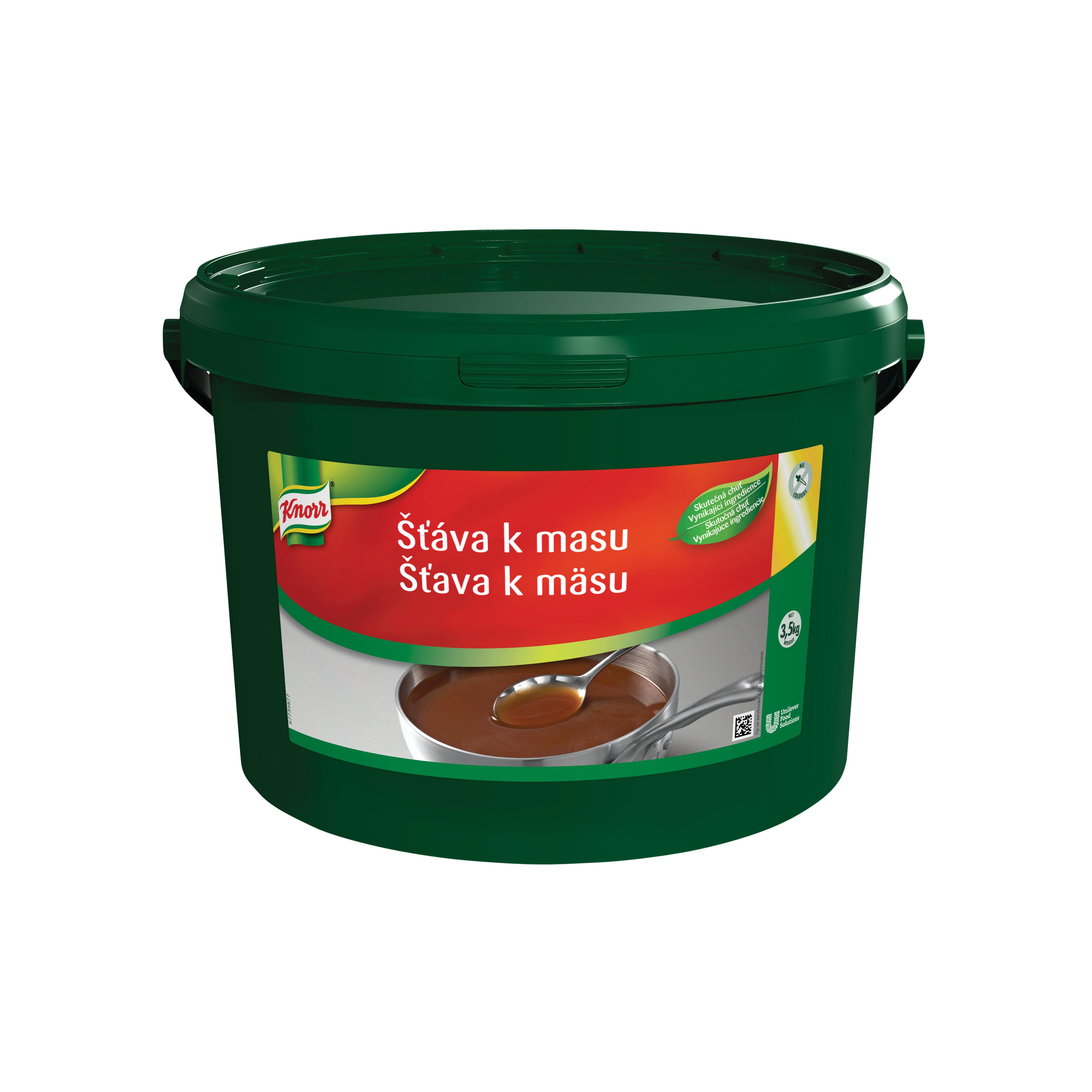 Knorr Šťava k mäsu 3,5kg - Tu je riešenie, ktoré vám umožní získať čo najviac základnej hnedej omáčky podľa potreby.