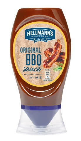 Hellmann's BBQ Omaka za žar plastenka 250 ml -