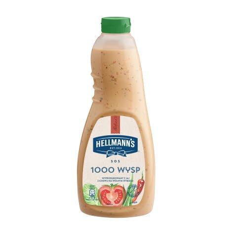 Hellmann's Solatni preliv 1000 Islands 1 l -
