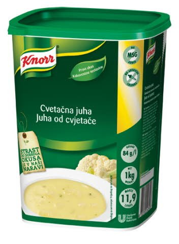 Knorr Cvetačna juha 1 kg
