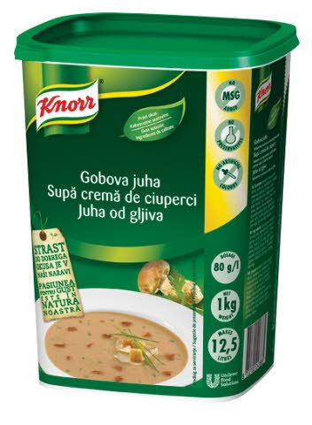 Knorr Gobova juha 1 kg