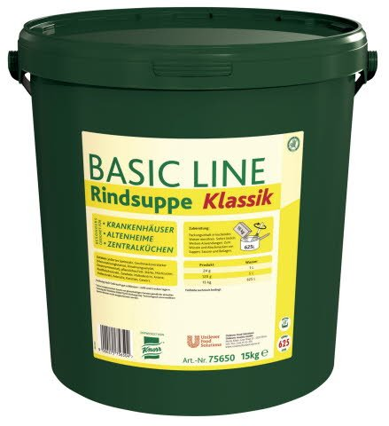 Knorr Goveja juha Basic Line 15 kg