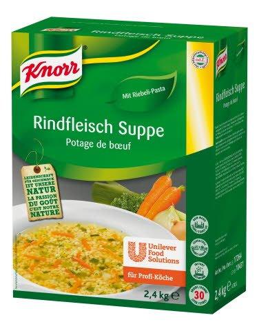 Knorr Goveja juha s testeninami 2,4 kg -