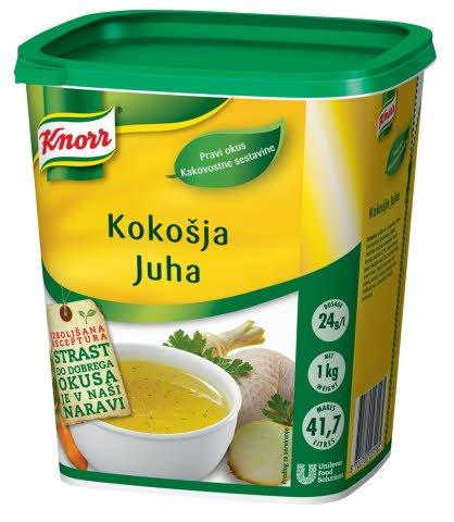 Knorr Kokošja juha 1 kg