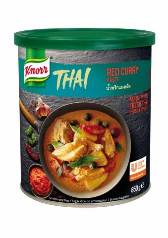 Knorr Rdeči Thai-Curry 850 g