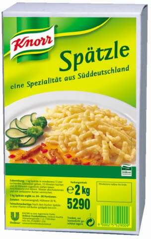 Knorr špecli 2 kg -
