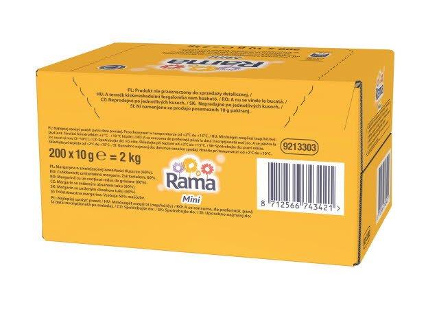 Rama porcijska margarina 10g