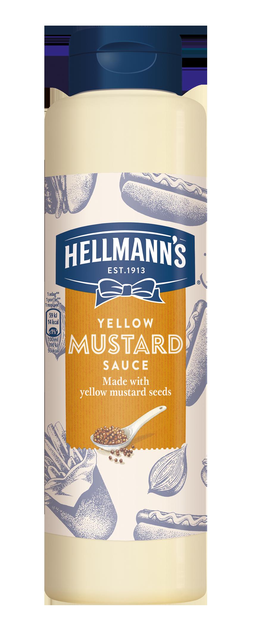 Hellmann's Gorčična omaka 850 ml - Svojim gostom pokažite kakovost