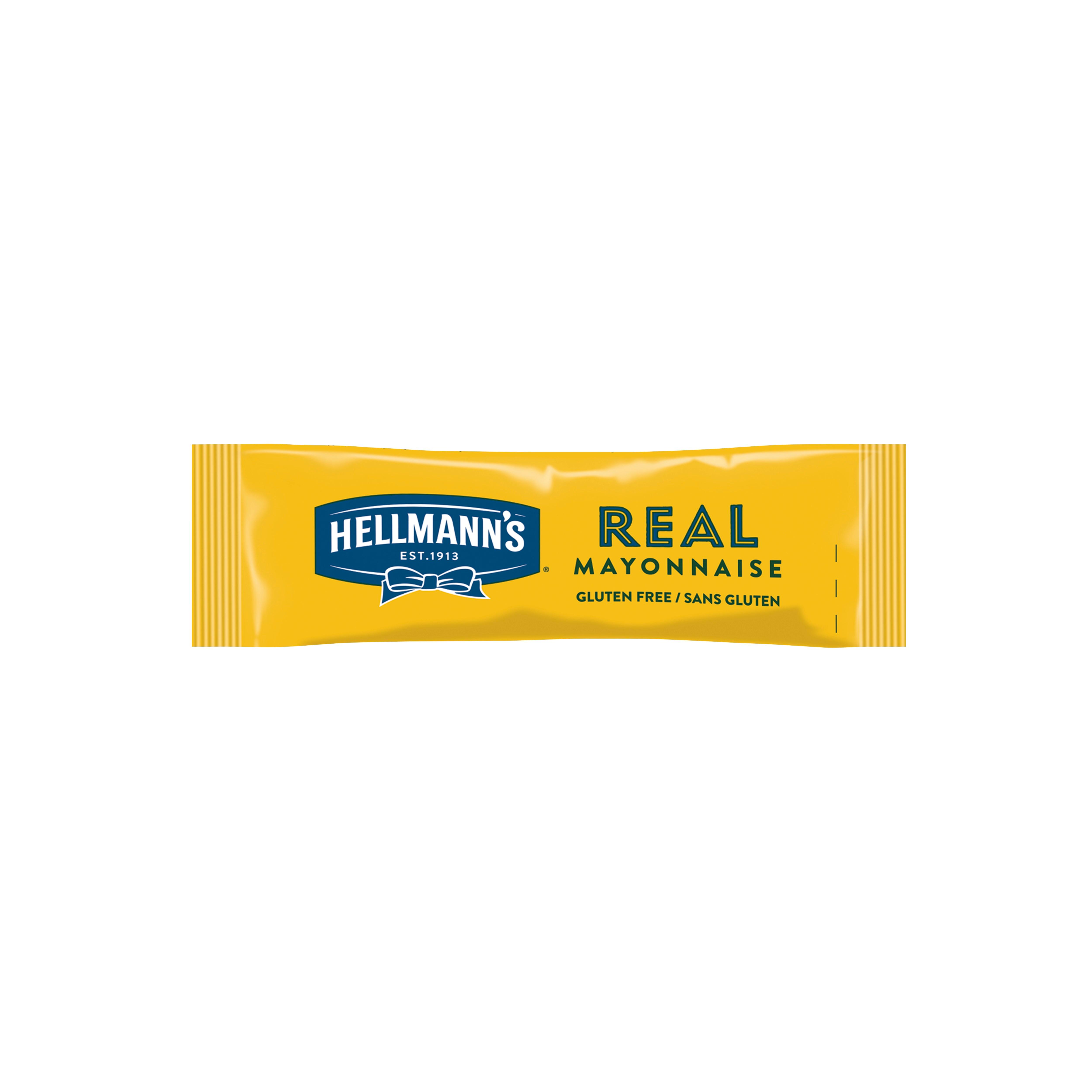 Hellmann's Majoneza porcijska 10 ml (198 kos) - Hellmann's hladne omake v enostavnem porcijskem pakiranju.