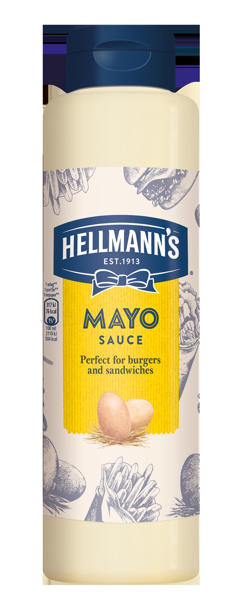 Hellmann's Majonezna omaka 850 ml - Svojim gostom pokažite kakovost