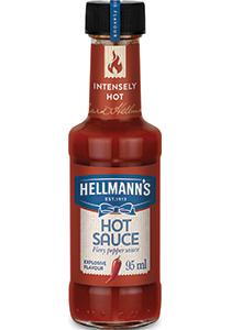 Hellmann's Pekoča omaka 95 ml - Kakovostna blagovna znamka, ki ji gosti lahko zaupajo.