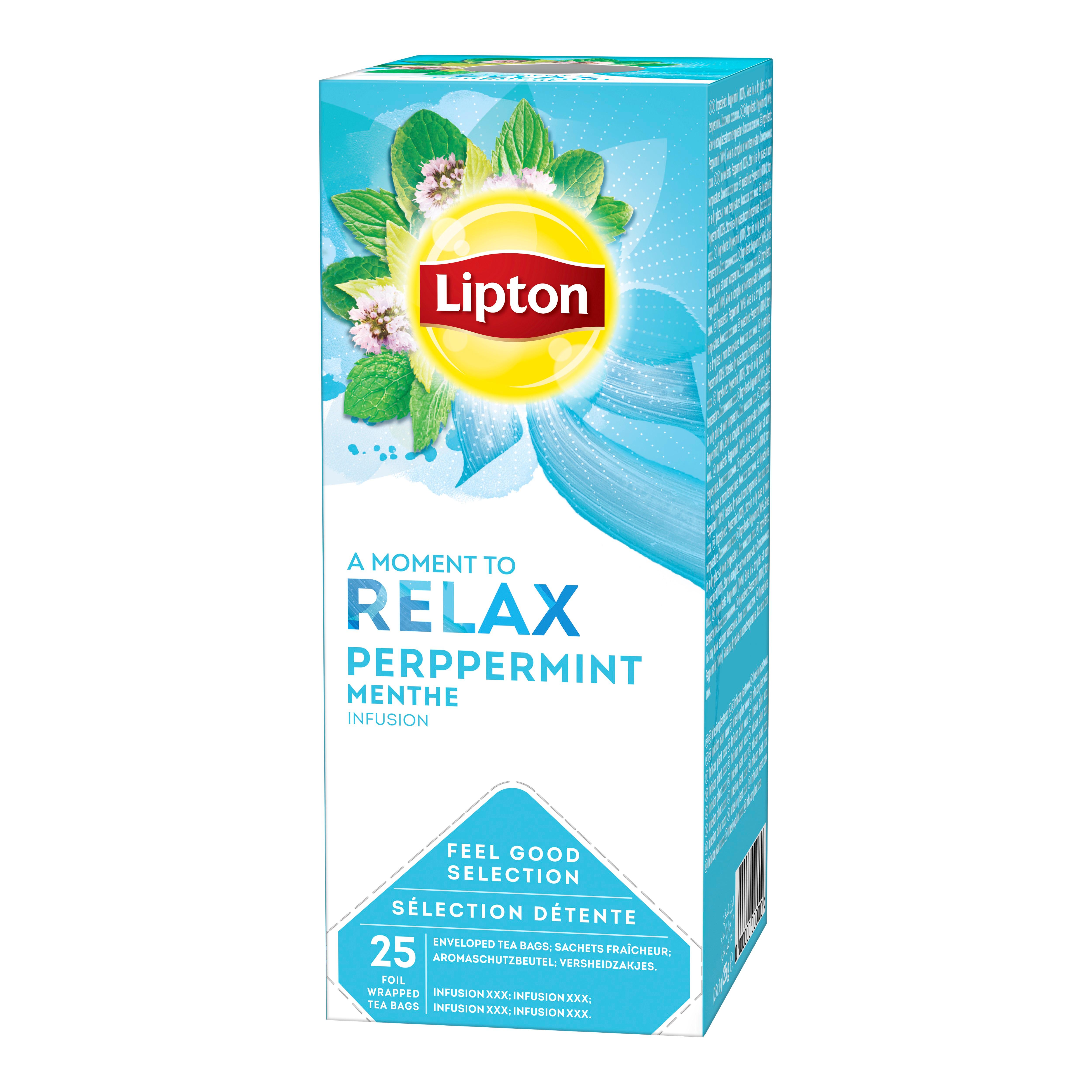 Lipton Meta 25/1 - Na voljo so različni Lipton čaji: zeliščni, črni, zeleni in sadni.