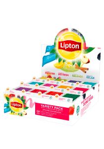 Lipton Mix box 12 x 15 - Na voljo so različni Lipton čaji: zeliščni, črni, zeleni in sadni.