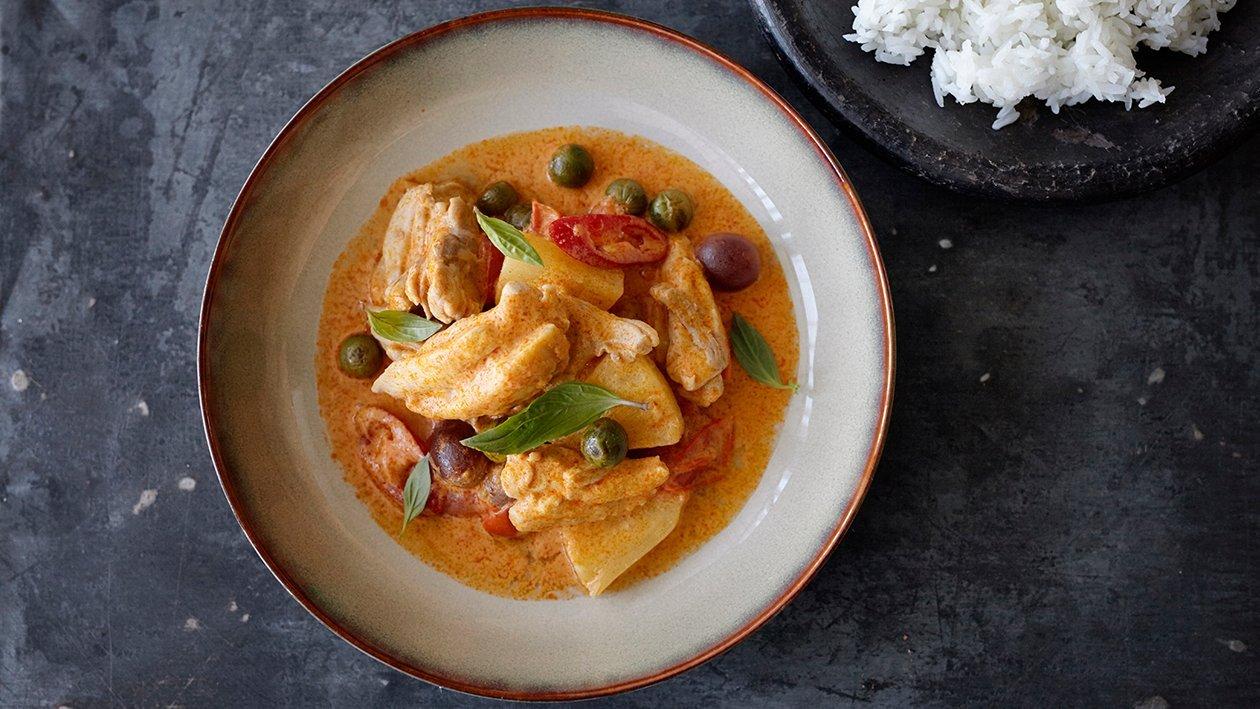 Rdeči curry s piščancem