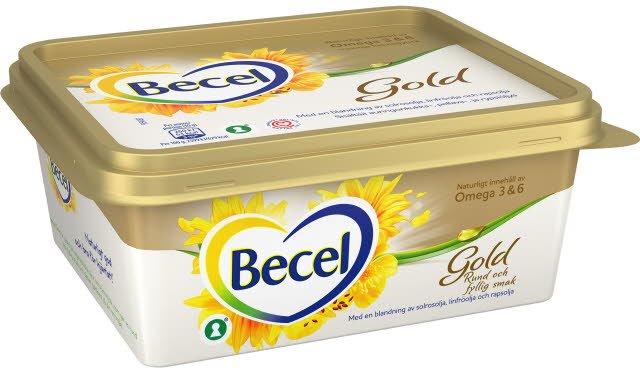 Becel Gold Smörgåsmargarin 12 x 600 g