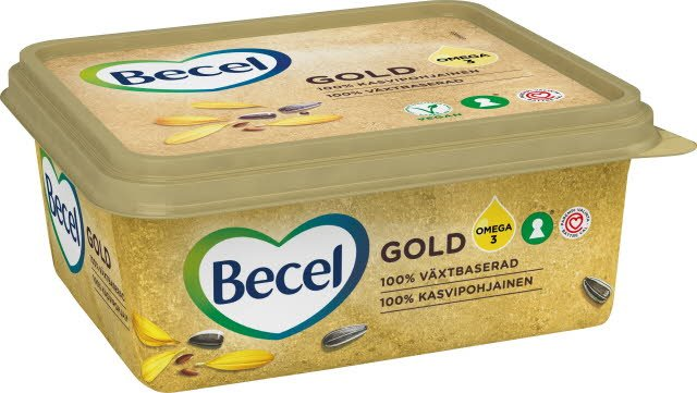 Becel Gold Smörgåsmargarin 12 x 600 g  -