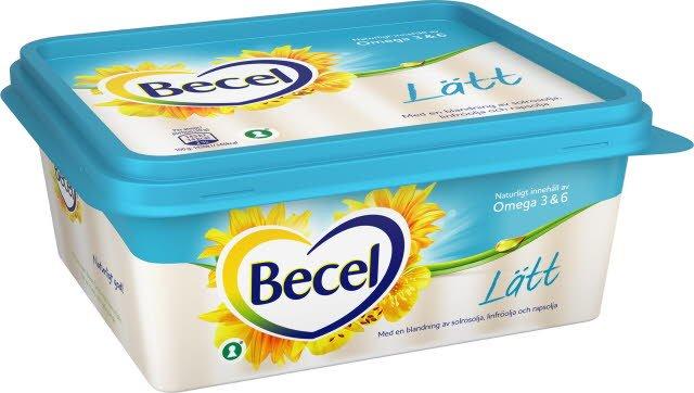 Becel Lättmargarin 12 x 600 g