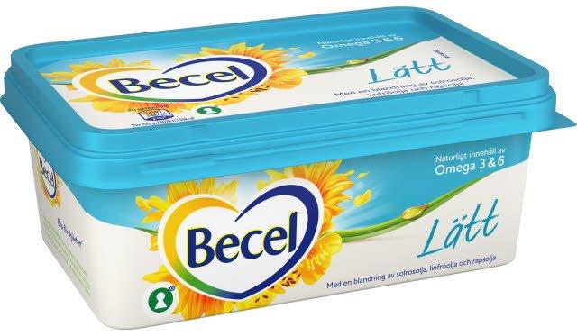 Becel Lättmargarin 16 x 400 g