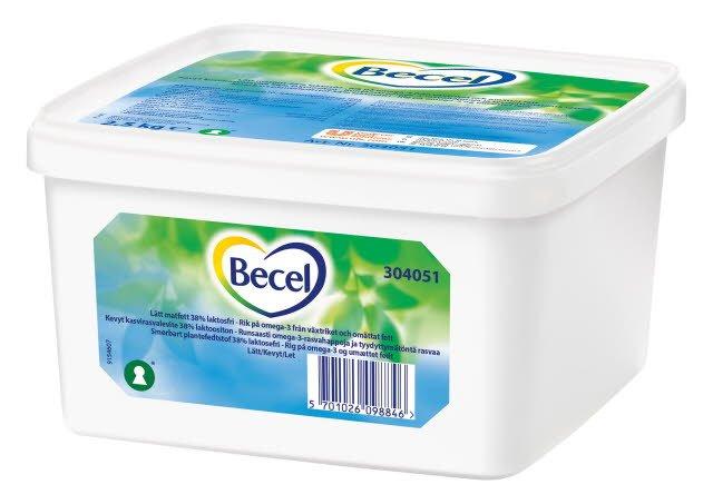 Becel Smörgåsmargarin 1 x 2,5 kg - Nytt artnr v 19 2019 - 67773034
