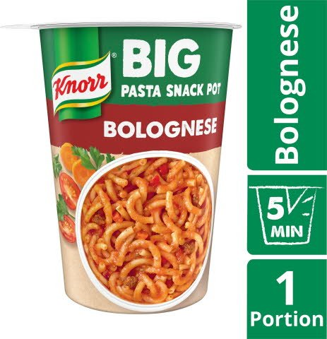 Bolognese Snackpot BIG, 8 x 88 g    -