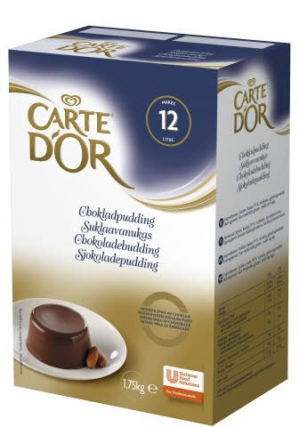 CARTE D'OR Chokladpudding 1 x 1,75 kg -