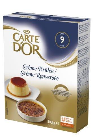 CARTE D'OR Crème Brûlée 1 x 1,08 kg   -