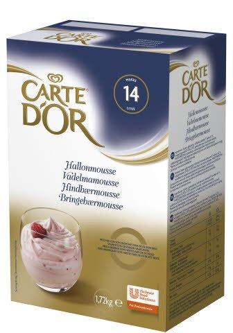 CARTE D'OR Hallonmousse 1 x 1,72 kg -