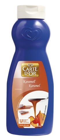 CARTE D'OR Karamelltopping 6 x 1 kg  -