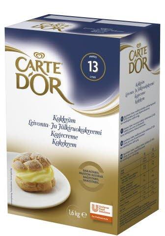 CARTE D'OR Vaniljsås, Gammaldags 1 x 1,6 kg