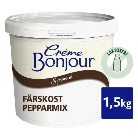 Crème Bonjour Pepparmix, Laktosfri, 1 x 1,5 kg