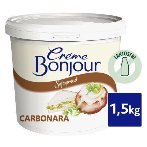 Crème Bonjour Softspread Carbonara 1 x 1,5 kg