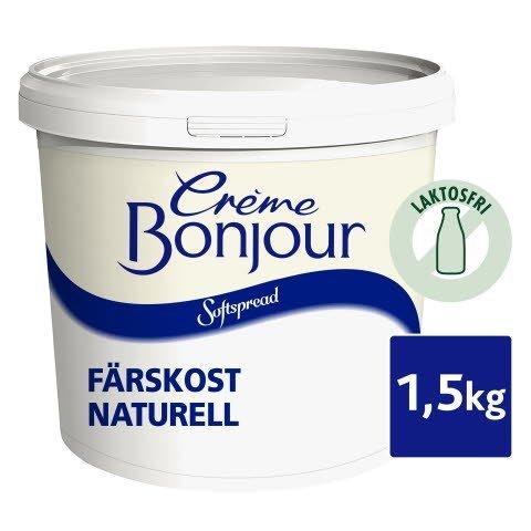 Crème Bonjour Softspread Naturell 1 x 1,5 kg