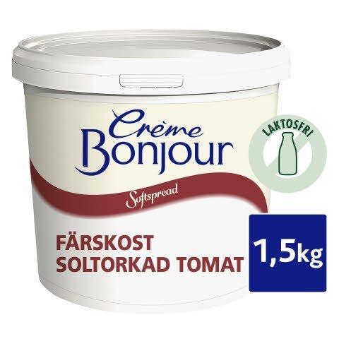Crème Bonjour Soltorkad Tomat, Laktosfri, 1 x 1,5 kg