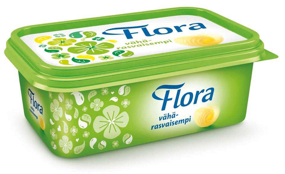 Flora Lätt Smörgåsmargarin 16 x 400 g