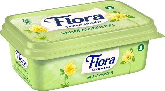 Flora Lätt Smörgåsmargarin 16 x 400 g  -