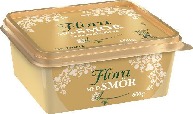 Flora med smör, 12 x 600g  -