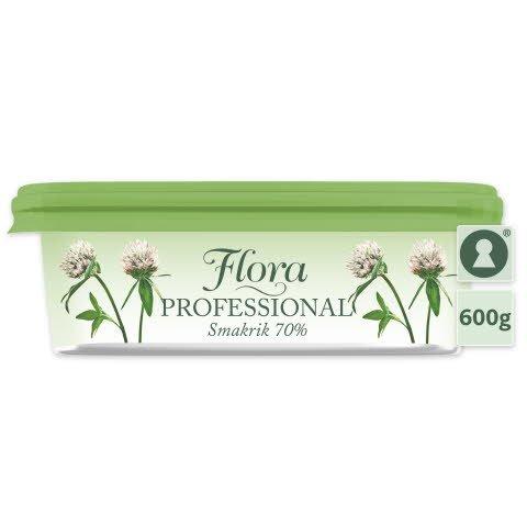 Flora PROFESSIONAL Smörgåsmargarin 70% 12 x 600 g