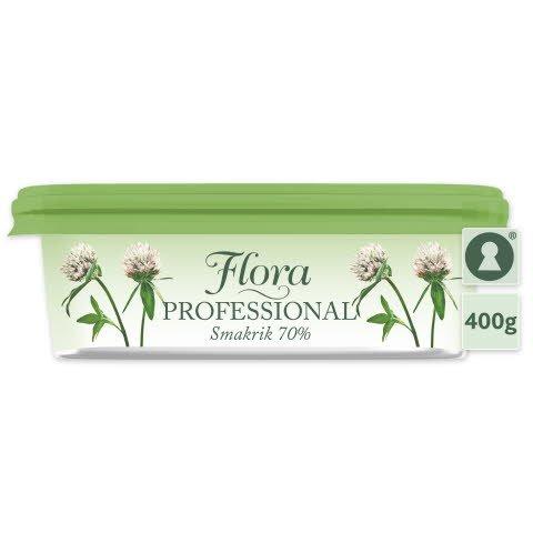 Flora PROFESSIONAL Smörgåsmargarin 70% 16 x 400 g