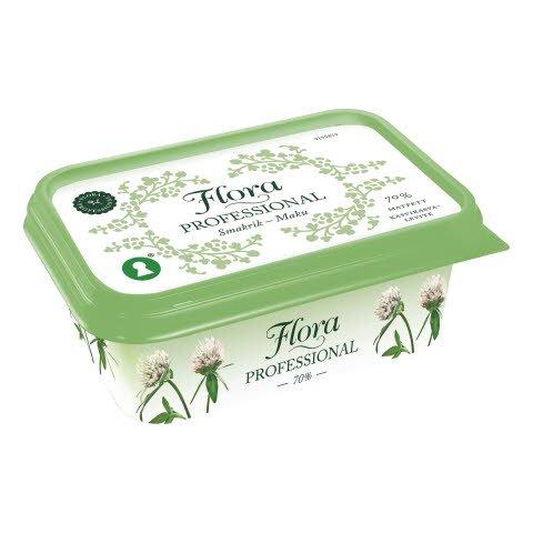 Flora PROFESSIONAL Smörgåsmargarin 70% 16 x 400 g -
