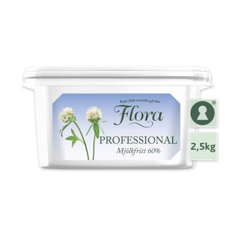 Flora PROFESSIONAL Smörgåsmargarin Mjölkfritt 1 x 2,5 kg