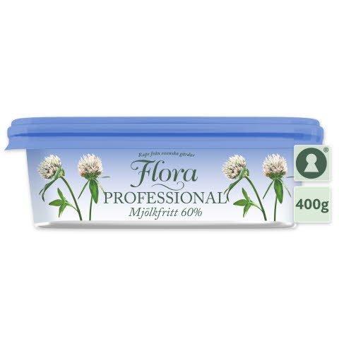 Flora PROFESSIONAL Smörgåsmargarin Mjölkfritt 16 x 400 g