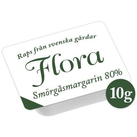 Flora Smörgåsmargarin, portion 200 x 10 g
