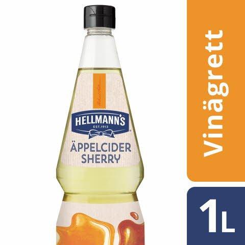 HELLMANN`S Apple Cider Sherry Vinegar Vinaigrette 6 x 1L -