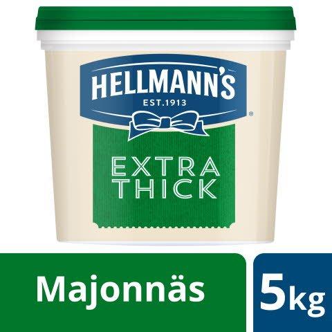 HELLMANN'S Majonnäs Extra Thick, 1 x 5 kg -