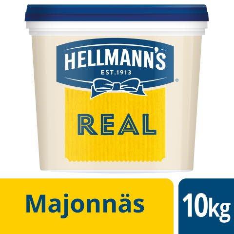HELLMANN'S Majonnäs Real 79%, 1 x 10 kg -
