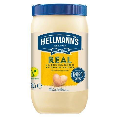 HELLMANN'S Majonnäs Real 79%, 1 x 2 L